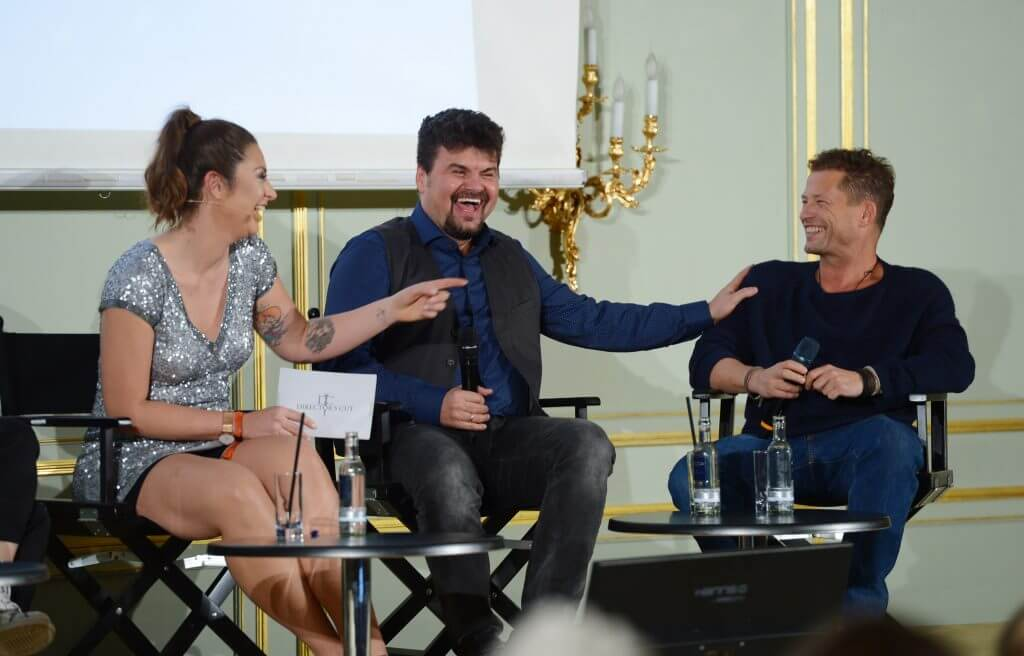 68. Berlinale - Movie Meets Media im Hotel Adlon in Berlin am 18.02.2018