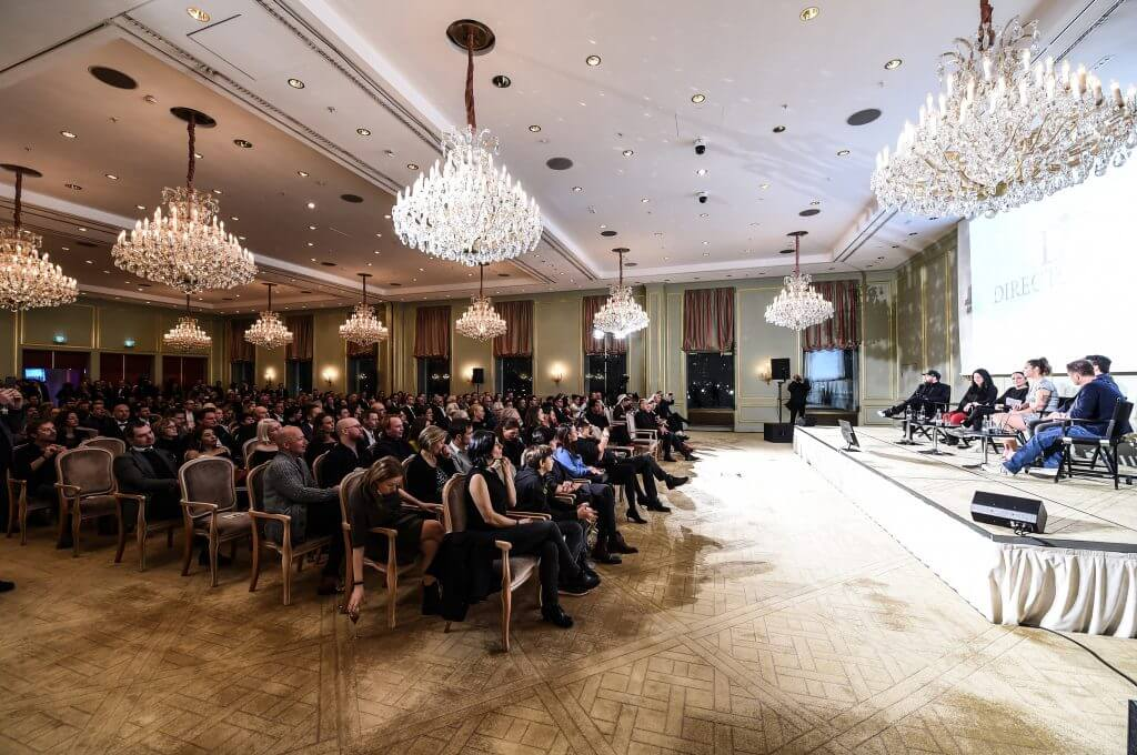 68. Berlinale - Movie Meets Media im Hotel Adlon in Berlin am 18.02.2018
